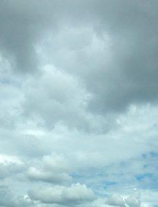 曇り空の浜松